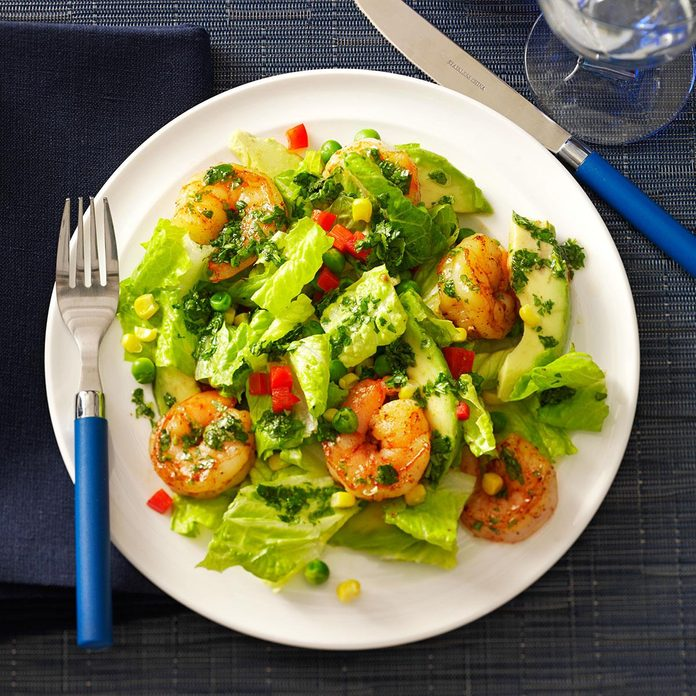 Shrimp & Avocado Salads