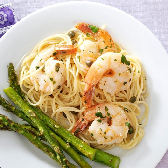 Shrimp Piccata