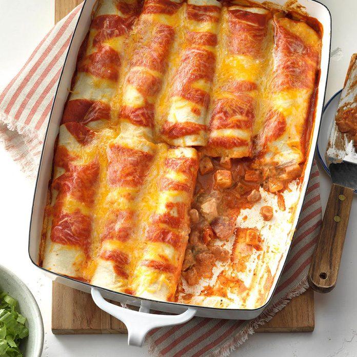 Simple Chicken Enchiladas