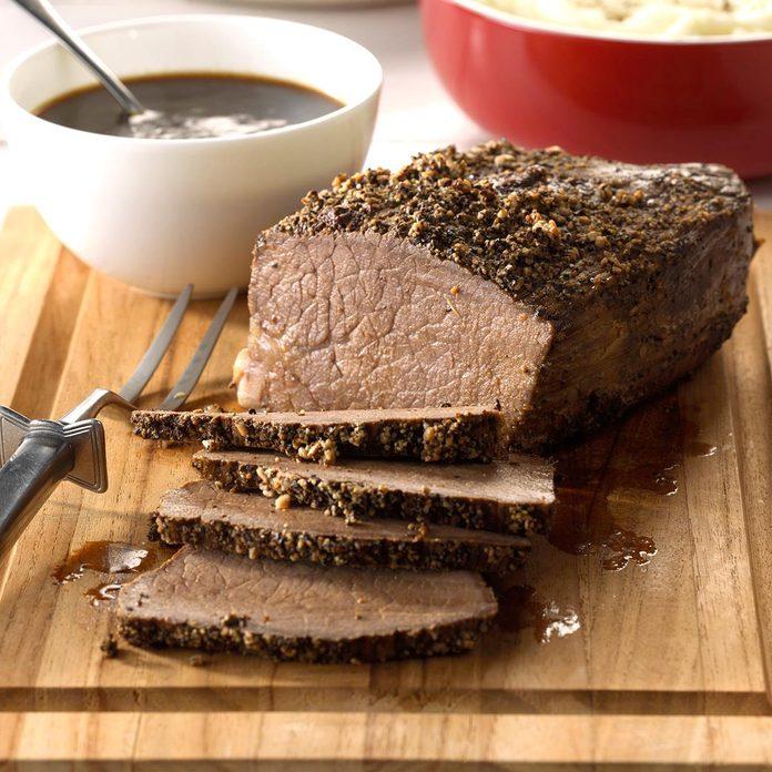 Sirloin Roast with Gravy