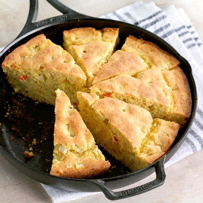 Skillet Herb Bread