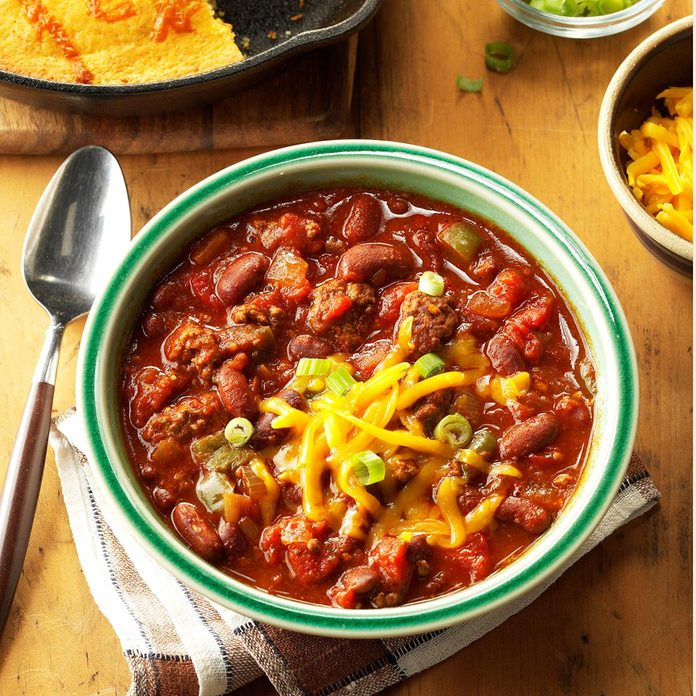Day 13: Slow-Cooked Chili