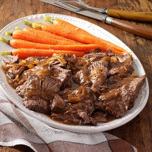 Slow-Cooked Coffee Pot Roast