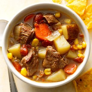 Slow-Cooked Mexican Beef Soup