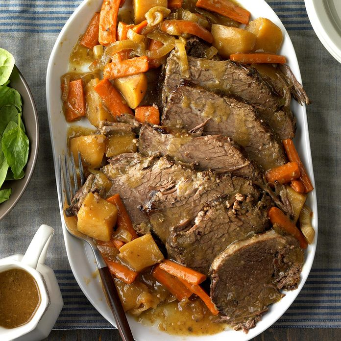 Day 14: Slow-Cooked Rump Roast