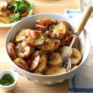 Slow Cooker German Potato Salad