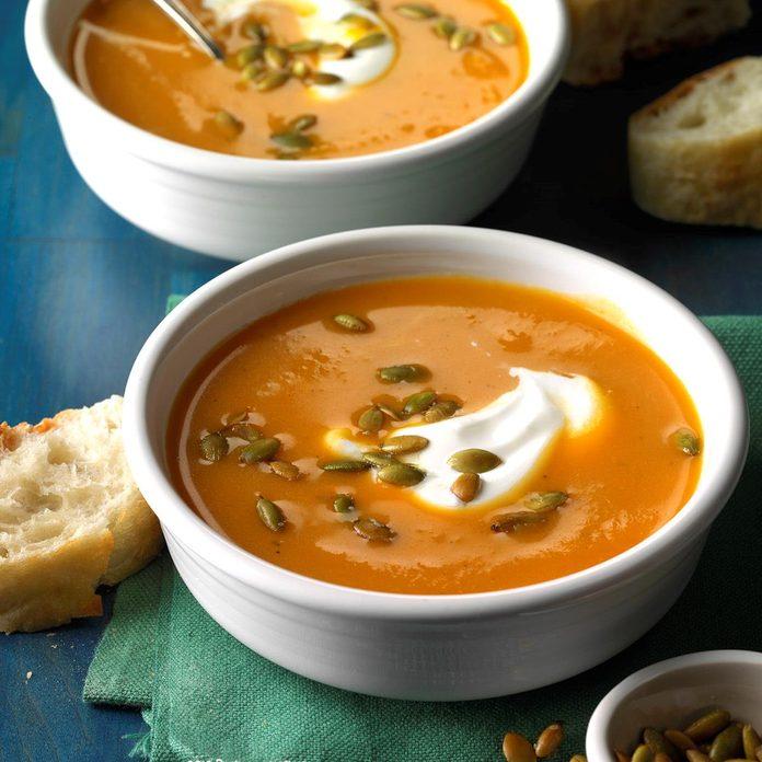 Slow Cooker Sweet Potato Soup