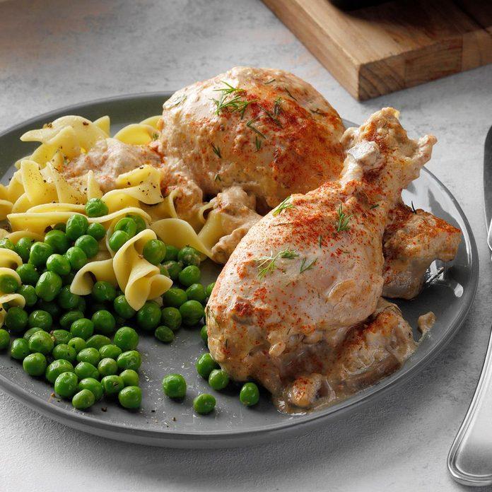 Sour Cream 'n' Dill Chicken