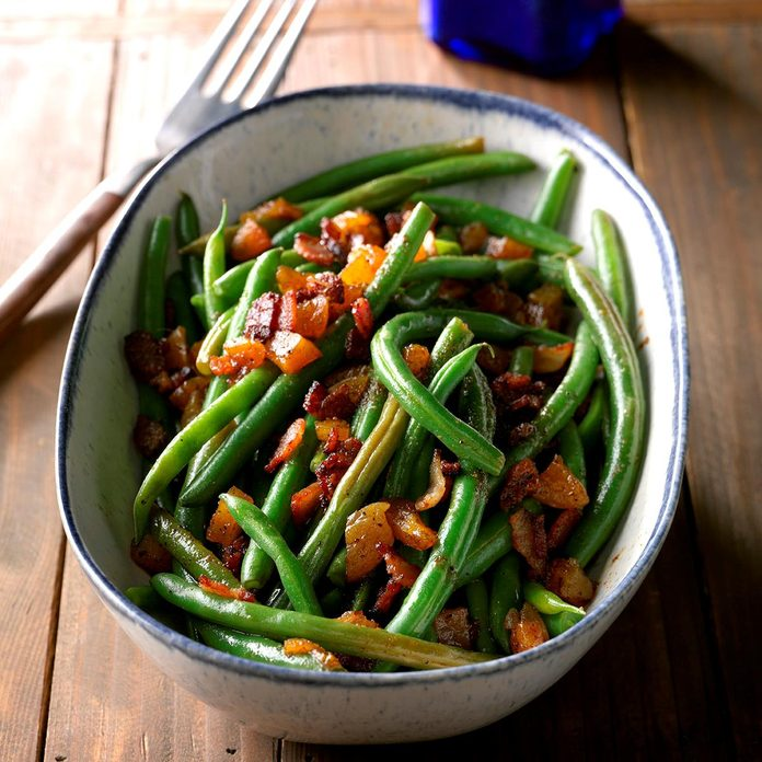 Southern Green Beans with Apricots