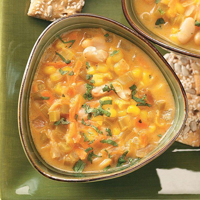 Southwestern Bean Chowder