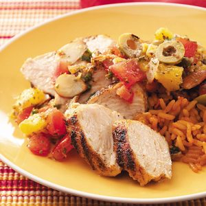 Spanish Turkey Tenderloins