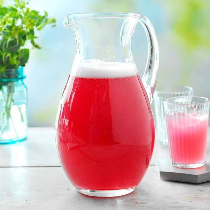 Sparkling Rhubarb Spritzer