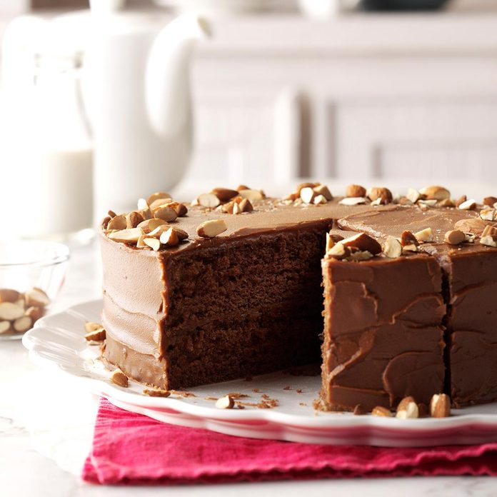 Spiced Devil's Food Cake