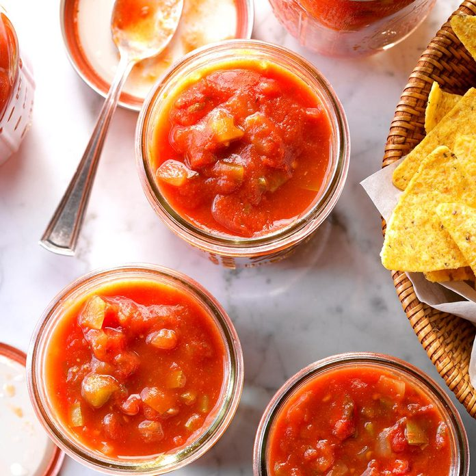 Spicy Chunky Salsa
