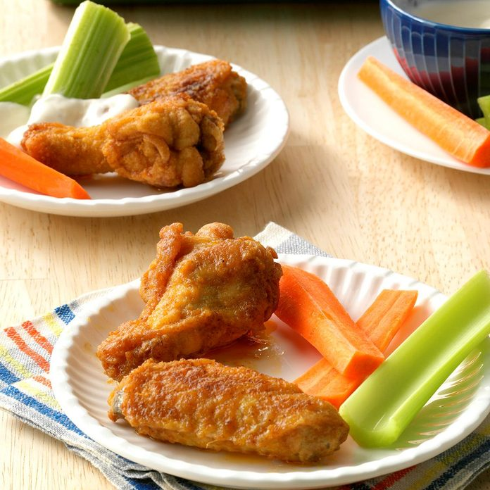 Spicy-Good Chicken Wings