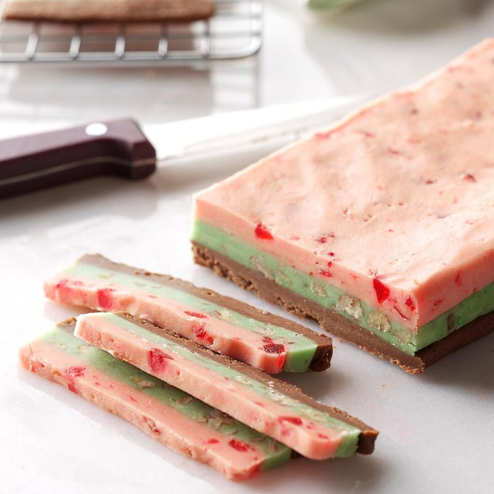 Spumoni Slices