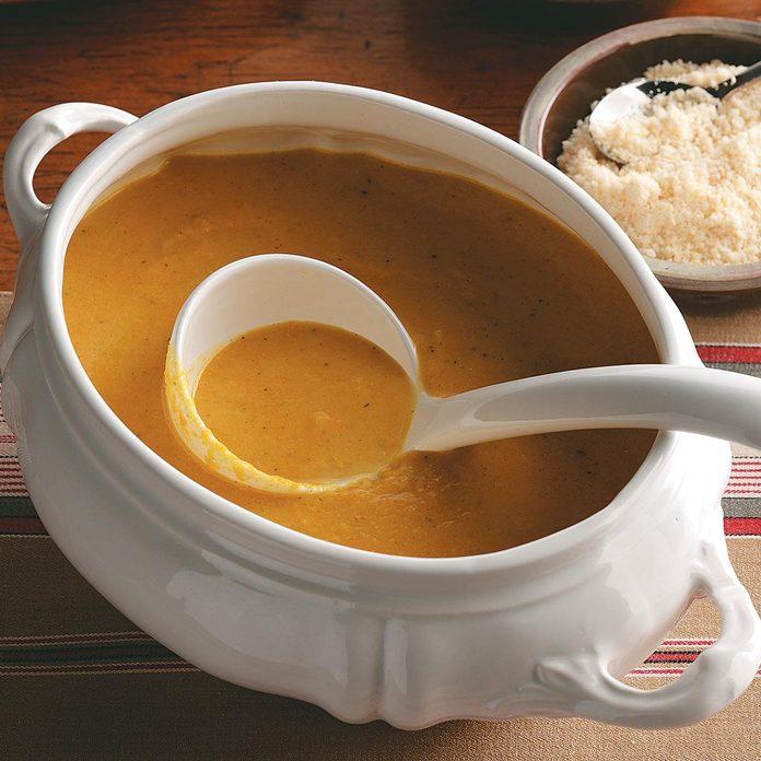 South Dakota: Squash Apple Soup
