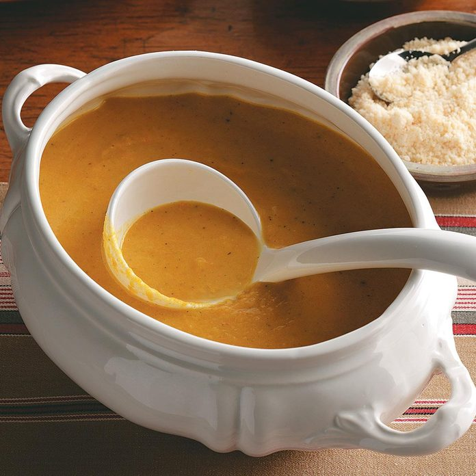Inspired by: Au Bon Pain's Butternut Squash & Apple Soup