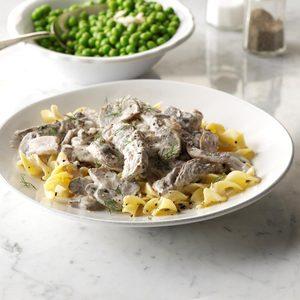 Steak & Mushroom Stroganoff