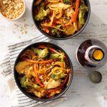 Stir Fry Chicken Lo-Mein