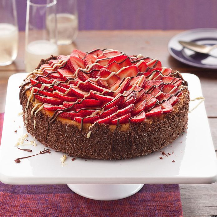 Inspired by: Cheesecake Factory Fresh Strawberry Cheesecake