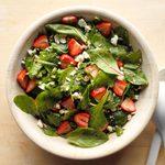 Strawberry Feta Tossed Salad