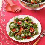 Strawberry & Glazed Walnut Salad