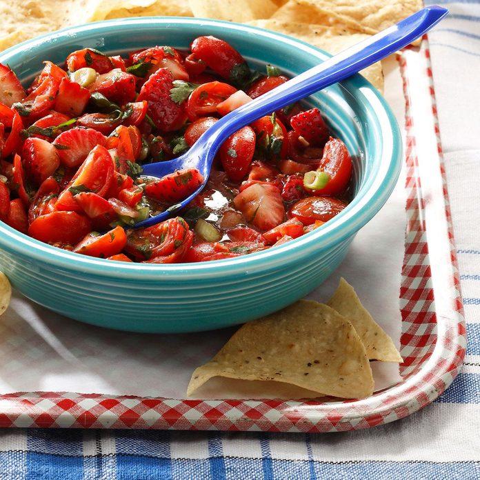 Strawberry Tomato Salsa