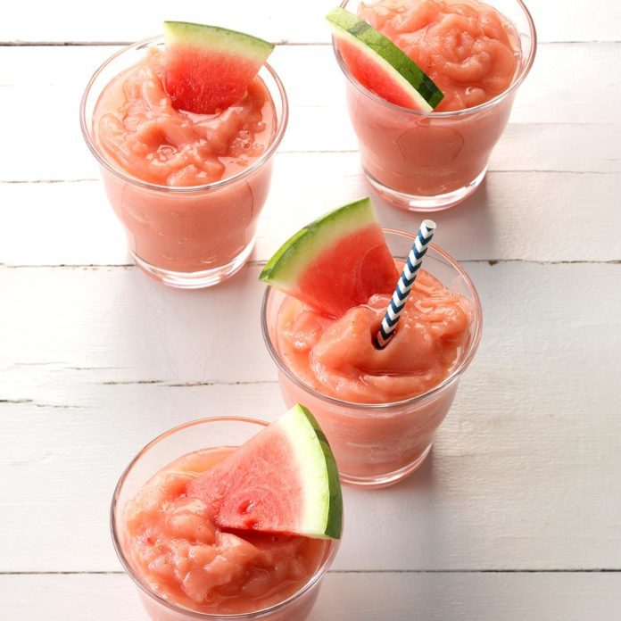 Strawberry Watermelon Slush