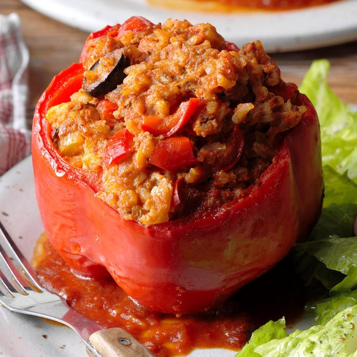 Day 18: Stuffed Sweet Peppers