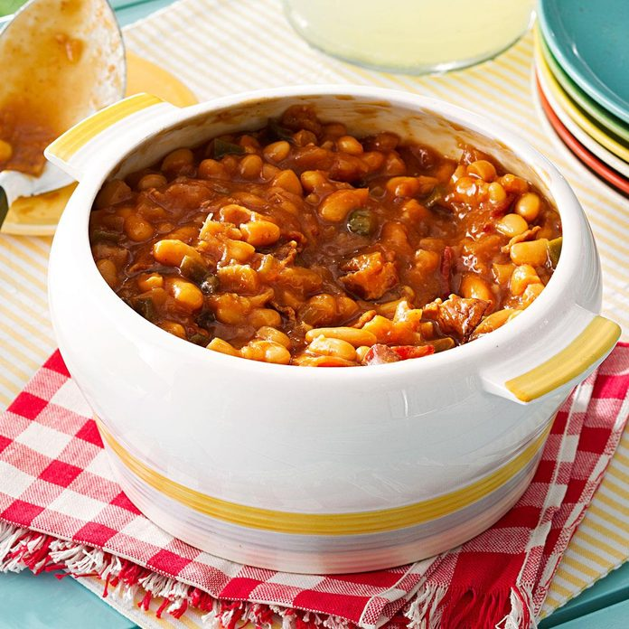 Sweet & Hot Baked Beans
