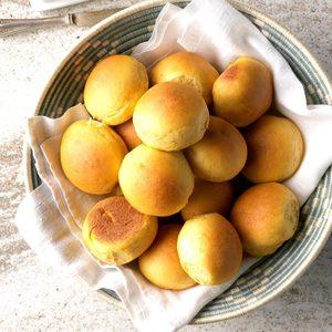 Sweet Potato Pan Rolls