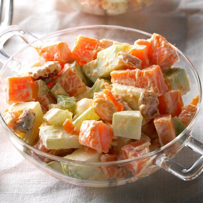 Sweet Potato Waldorf Salad