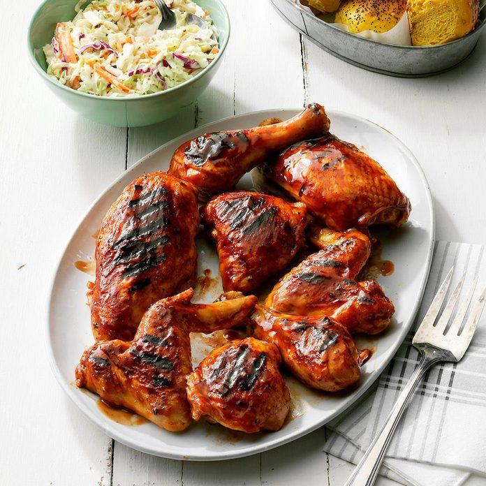 July 17: Sweet Tea Barbecued Chicken
