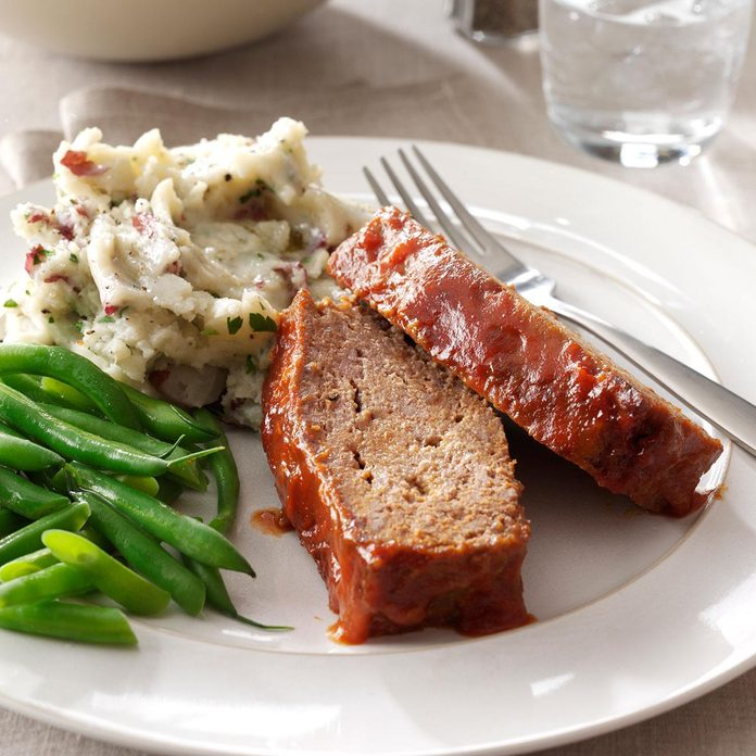 Sweet-and-Sour Meat Loaf