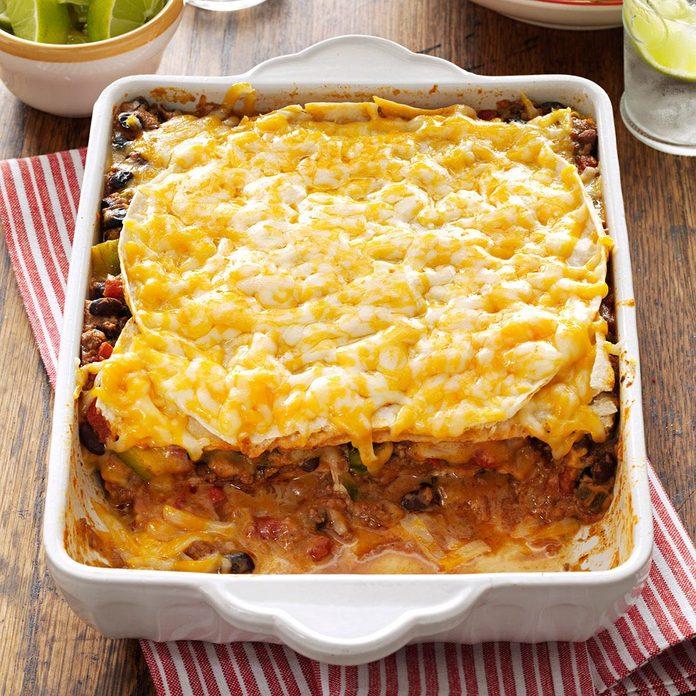 Day 24: Taco Lasagna