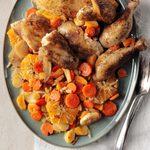 Tangerine Chicken Tagine