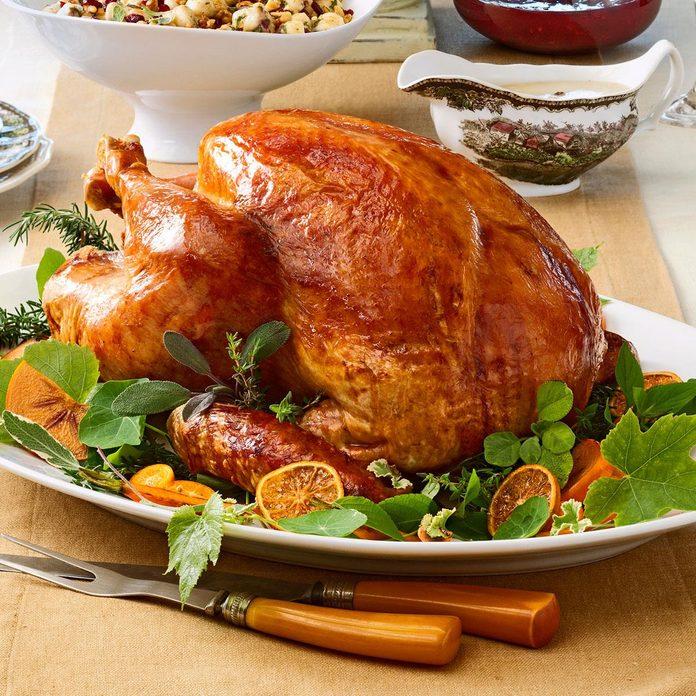 Tangerine-Glazed Turkey