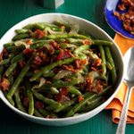Tangy Bacon Green Beans