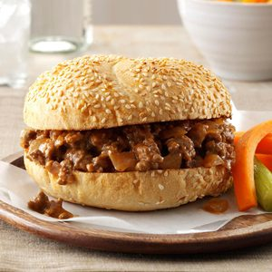 Tangy Barbecued Beef Sandwiches