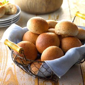 Tender Whole Wheat Rolls