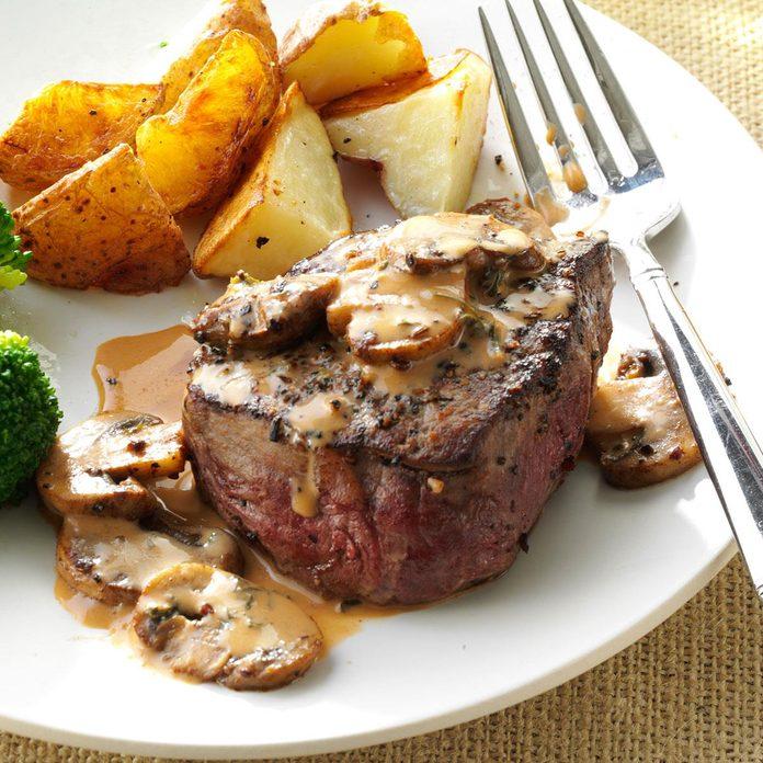 Inspired by Morton's Steak Diane