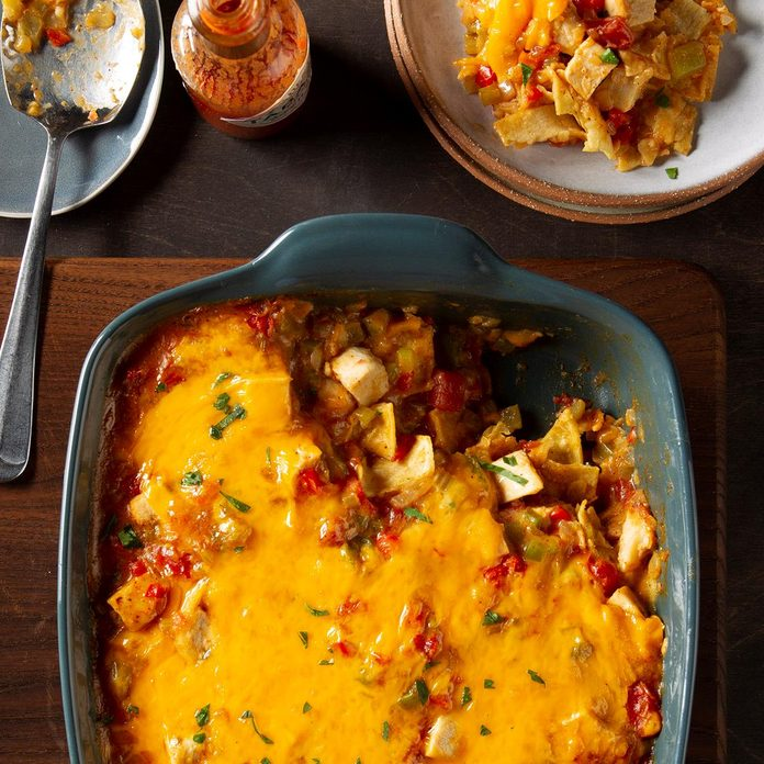Day 12: Texan Ranch Chicken Casserole
