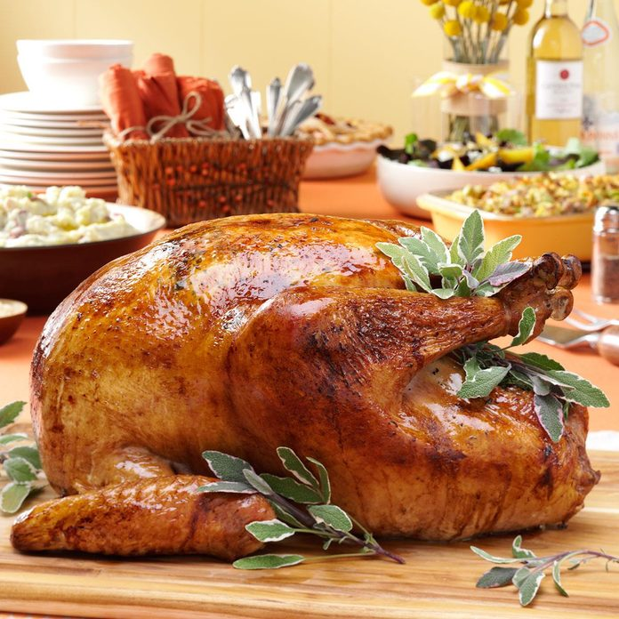 Thyme Roasted Turkey