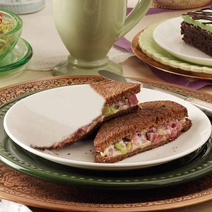 Toasted Corned Beef Sandwiches