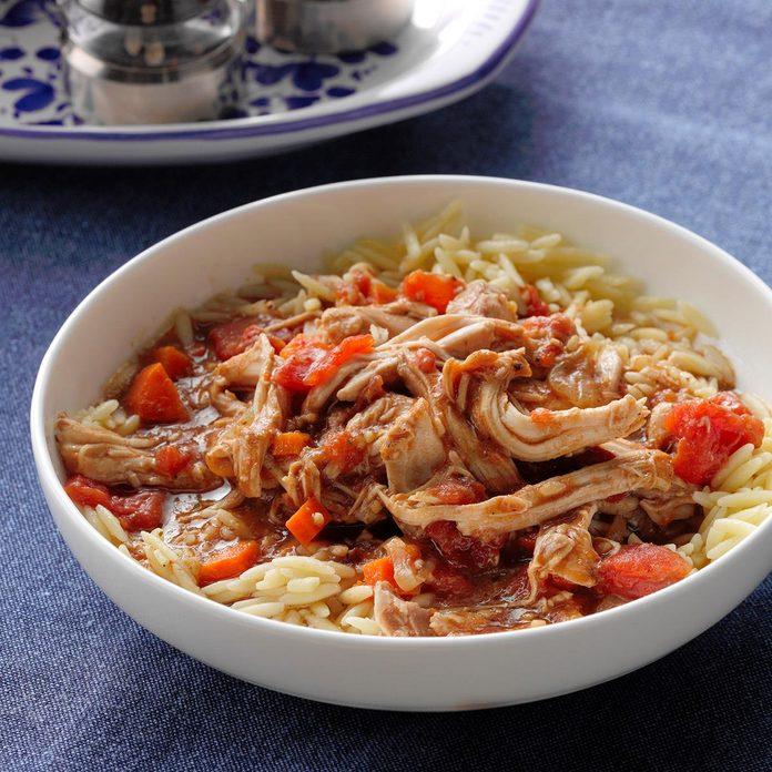Day 13: Tomato Balsamic Chicken