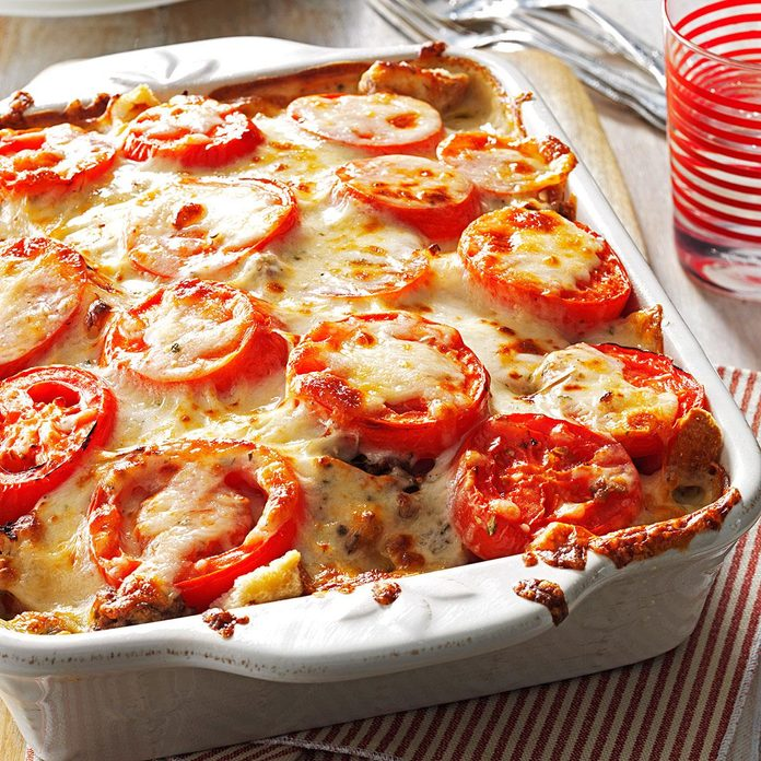Tomato-French Bread Lasagna
