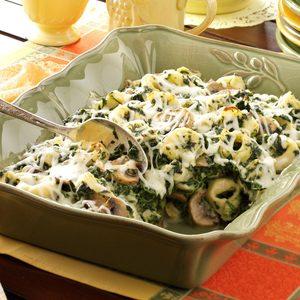 Tortellini Spinach Casserole