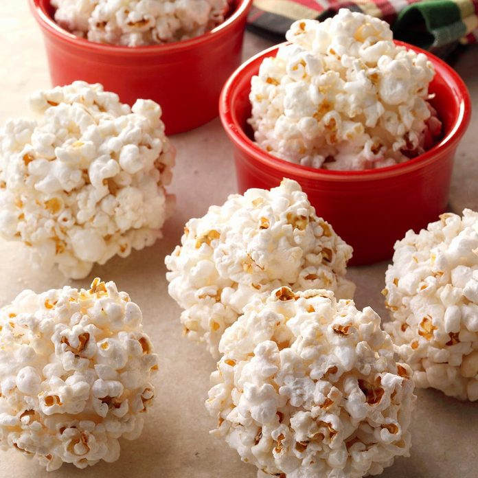 Traditional Popcorn Balls