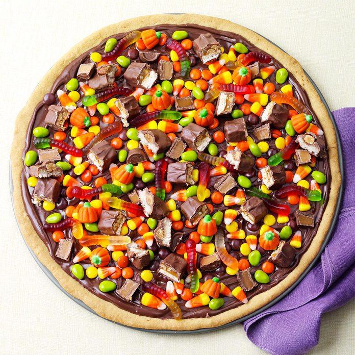 Sweet Treat: Trick-or-Treat Pizza